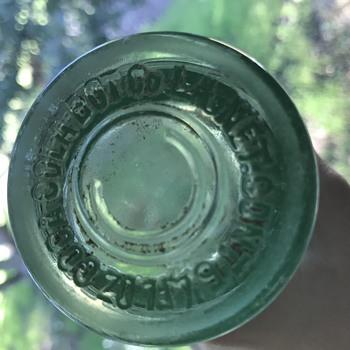 Found coke bottle-any info appreciated! - Bottles