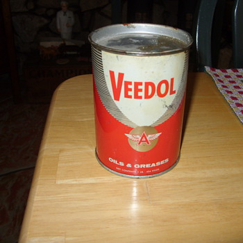 veedol flying a oil and grease