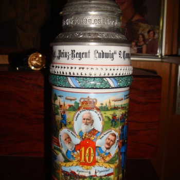 Imperial German Reservist's Stein of Tambour Jehl