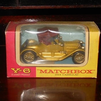 Magnificent Matchbox Monday Y-6 1913 Cadilac - Model Cars