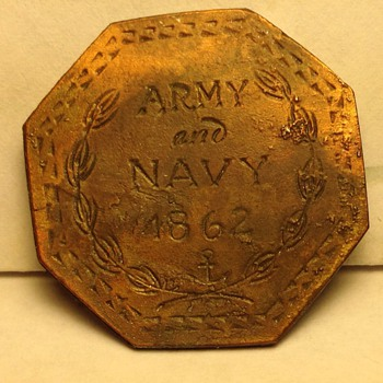 2 1/2 cent civil war token - US Coins
