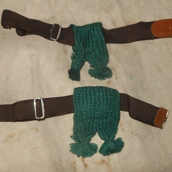 The Saturday Evening Scout Post Garters, Tassels and Knee Socks - Sporting Goods