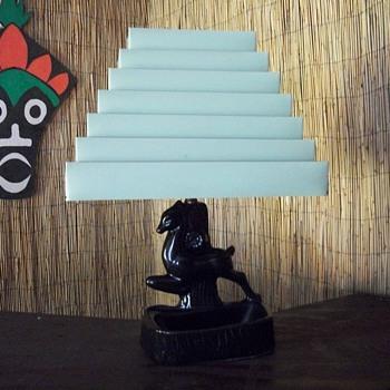 TV lamp,Metal mint green shade - Lamps