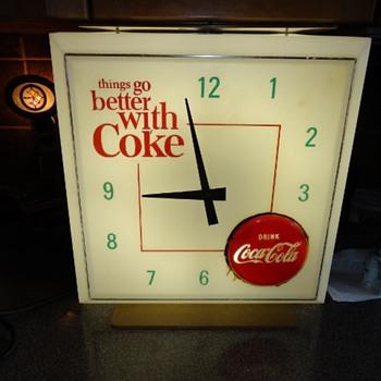 Coke Clock - Coca-Cola