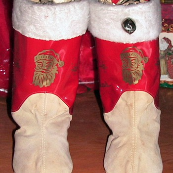 Childs Santa Boots - Christmas