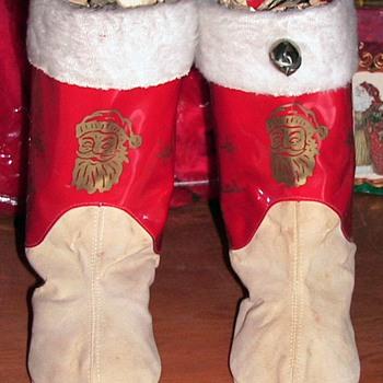 Childs Santa Boots