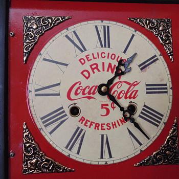 Coca~Cola Shelf Clock - Clocks