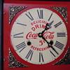 Coca~Cola Shelf Clock