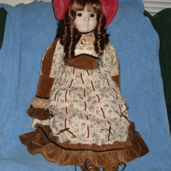 Antique Doll Rone Sankyo Mado in Japan - Dolls