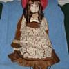 Antique Doll Rone Sankyo Mado in Japan