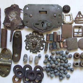 Some of my metal detecting finds over the years