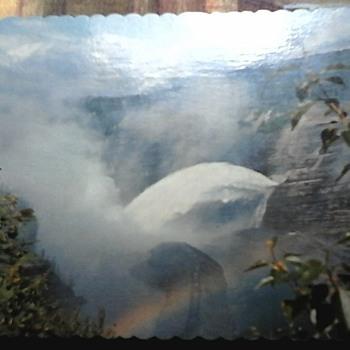 W.A.C. dam postcards