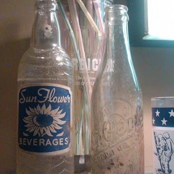 SunFlower Beverage bottle - Bottles