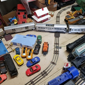 Train Box Lot #1 - Model Trains