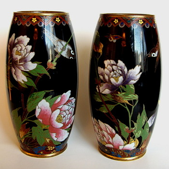 Some of My Collection of Meiji Cloisonne Pieces - Japanese 1890-1912 - Asian