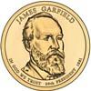 James A. Garfield Copper Coin