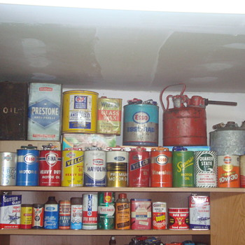 my oil cans