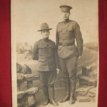 RPPC of British Giant from WW1