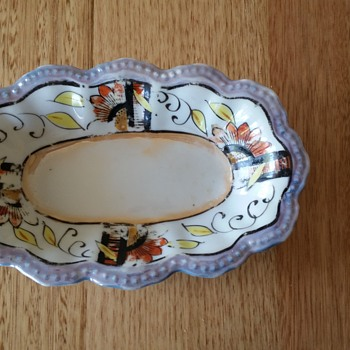 Great Aunts plate - China and Dinnerware