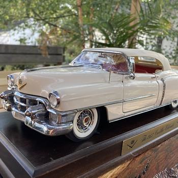 1953 cadillac eldorado by danbury mint  - Model Cars