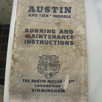Automobile handbook