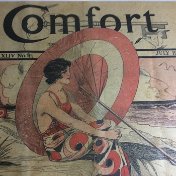 Comfort in 1932 between the Wars - Paper