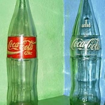 1ltr Glass Coke Bottles