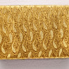 Beige and Gold Brocade Sherman Jewellery box, Large Size