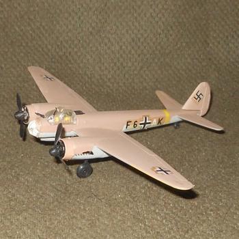 Bachmann Mini-Planes Junkers JU-88 WWII German Bomber - Toys