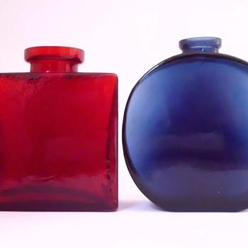Klaus Breit Bottle Vases for Wiesenthalhuette - Art Glass