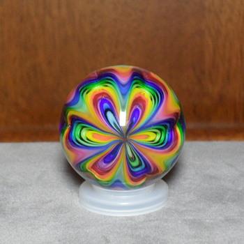 Ed Seese Designer Art Marble - Art Glass
