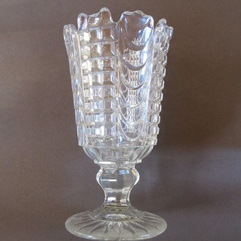 Pressed Glass Celery Vase? - Glassware