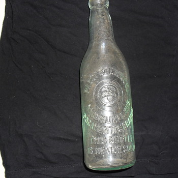 pabst bottle pocahontis branch