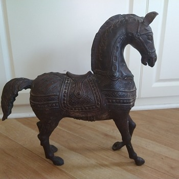 Metal horse - Animals