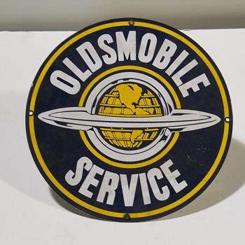 Oldsmobile Service  - Signs