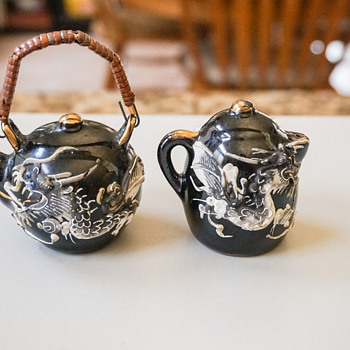 Dragon Teapot S&P Shakers