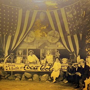 c. 1915 Coca-Cola Stand - Coca-Cola