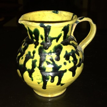 Small Dripware Pitcher - Pottery