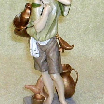 Grecian Waterboy Figurine - Italy - Figurines