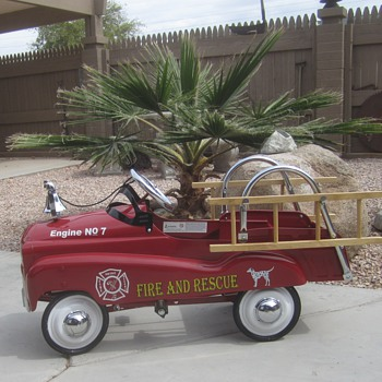 Fire & Rescue Pedal Car - Toys
