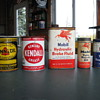 Old Gas & Oil Cans
