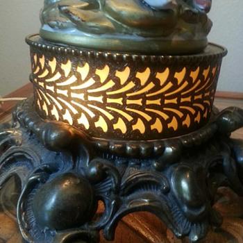 Beautiful vintage fountain lamp - Lamps