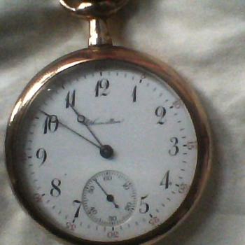 Hamilton Gold Pocket Watch