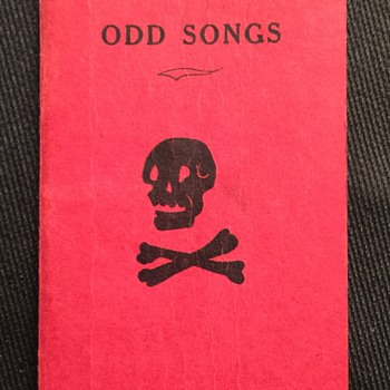 Old Antique  Class & Yells School Chant Booklet 1917