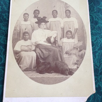 Rare Slave Owner with Servants with Names and Duties