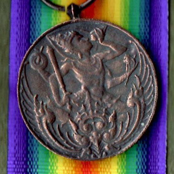 WWI Siamese and Brazilian Victory Medals - Military and Wartime