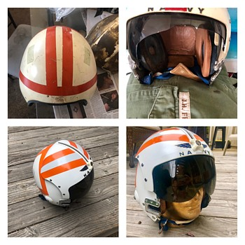 Vintage Flight Helmet APH-6a - Military and Wartime