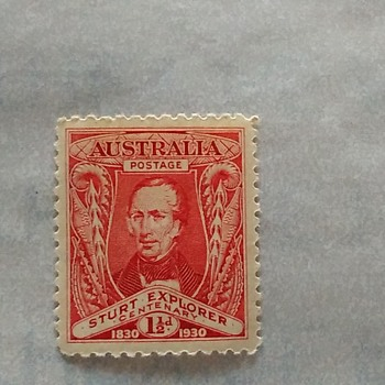 Australia's Century Stamp...