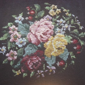 Great-Great Grandmother's Needlepoint