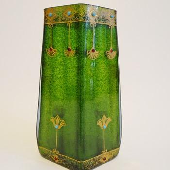Loetz Aventurin and Fuxit - Art Glass